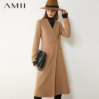short coat Autumn 2020 170/92A/XL 160/84A/M 150/76A/XS . 165/88A/L 155/80A/S Camel black description Long sleeves routine routine singleton  Self cultivation routine V-neck double-breasted 25-29 years old Amii 51% (inclusive) - 70% (inclusive) WT0-1209TM0009 polyester fiber