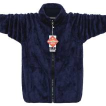 Jacket Cpcompany / compalie Youth fashion Black, Navy, dark grey green, cow blue Plush and thicken easy Other leisure winter Long sleeves Wear out stand collar Youthful vigor Large size routine Zipper placket Round hem No iron treatment Closing sleeve Solid color Zipper decoration Side seam pocket