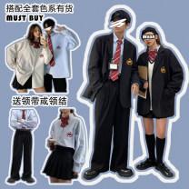 Suit pants / suit pants M (men's trousers), l (men's trousers), XL (men's trousers), XXL (men's trousers), s (women's skirt), m (women's skirt), l (women's skirt), group purchase can be customized size Black (men's trousers), black (women's skirt) Autumn 2020 Straight cylinder trousers routine lovers