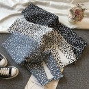 skirt Spring 2021 S,M,L,XL White, black, light blue Mid length dress commute High waist Leopard Print 18-24 years old 51% (inclusive) - 70% (inclusive) Korean version