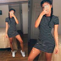 Dress Summer of 2018 black S,M,L,XL Short skirt 71% (inclusive) - 80% (inclusive)