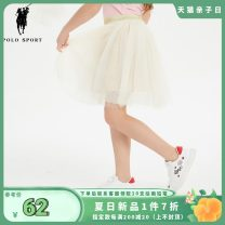 skirt 110CM 120CM 130CM 140CM 150CM white Polo Sport female Polyamide fiber (nylon) 100% summer skirt princess other other 82SD34138 Class B Summer of 2019