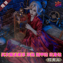 Cosplay accessories other goods in stock other Red lady's full set of dress, skirt and bow [Hai, shoes (35-40 size note), red lady's wig, hair net, hair wax] 50. M, s, XL, XXL, one size fits all giguyiKyH36EX6-hiIIB