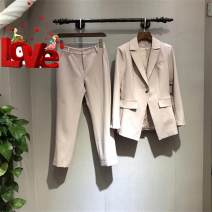 Fashion suit Autumn of 2018 S,M,L Lime powder , Lime blue twenty million one hundred and eighty thousand nine hundred and eleven - A34