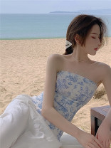 undergarment covering the chest and abdomen Summer 2021 S,M,L Blue printing singleton  have cash less than that is registered in the accounts commute Self cultivation 18-24 years old other Cotton ammonia 71% (inclusive) - 80% (inclusive) Other / other 110# printing Korean version