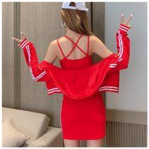 Fashion suit Spring 2021 S,M,L,XL Red-593, black-r6i 2DA7DF07 30% and below