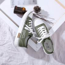 canvas shoe Other / other Low Gang 35,36,37,38,39,40 Winter of 2018 Frenulum Korean version rubber Solid color