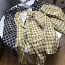 Fashion suit Spring 2021 S, M Yellow suit, black suit 18-25 years old SG214769 30% and below