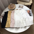 skirt Summer 2020 Average size Yellow skirt, apricot skirt, white skirt, black skirt Short skirt commute High waist A-line skirt Solid color Type A 18-24 years old FG154389 30% and below Other / other other Korean version