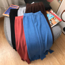 skirt Autumn 2020 Average size Brick red skirt, coffee skirt, blue skirt, grey skirt, black skirt grace 18-24 years old D505172 30% and below other other