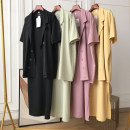 Professional dress suit Average size Yellow suit 5-7 days delivery, pink suit 5-7 days delivery, black suit 5-7 days delivery, green suit 5-7 days delivery, 2-fg903858-pink, 2-fg903858-black, 2-fg903858-green Summer 2020 Short sleeve KCXY903999 shirt other 18-25 years old Other / other 30% and below