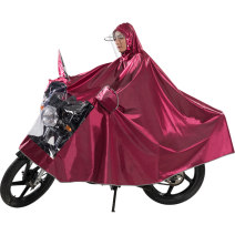 Poncho / raincoat polyester XXXXL adult 1 person thick See description Motorcycle / battery car poncho 1.2-1.6KG Zn single