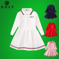 Golf clothing KEROMIE For children Lapel Long sleeves Summer of 2019