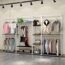 Clothing shelves Jiangsu Province Metal steel Disassembly and storage