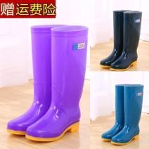 Rain shoes PVC Summer of 2019 PVC Netting TPR (tendon) comfortable High tube spring and autumn