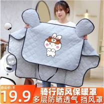 Electric vehicle windshield quilt Other For men and women Sunscreen One piece PVC waterproof cloth