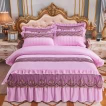 Bedding Set / four piece set / multi piece set cotton Embroidery, quilting Solid color 133x72 Other / other cotton 4 pieces 60 Attachment - Scarlet, attachment - bean paste, attachment - gray, attachment - Aqua Green, attachment - camel, attachment - pink, attachment - Pink Jade, attachment - Beige