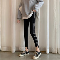 Leggings Autumn 2020 Grey (premium), black (premium) Average size routine Capris / Capris Eight point eight 18-24 years old 30% and below