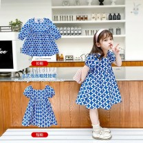 Dress P13 blue R11 blue long sleeve female HENGGUAN 90cm 100cm 110cm 120cm 130cm 140cm 150cm 160cm / S 165cm / M 170cm / L Other 100% summer Korean version Short sleeve other cotton A-line skirt N85772J34639 other Summer 2020