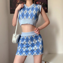 Fashion suit Spring 2021 Average size blue 18-25 years old ORANGEA S1738770 91% (inclusive) - 95% (inclusive) polyester fiber
