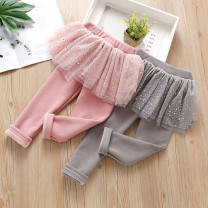 trousers Chimicore female 90cm,100cm,110cm,120cm,130cm,140cm Pink (cashmere), gray (cashmere) winter trousers Korean version Combat trousers Class B 3 months