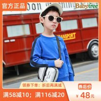 Sweater / sweater Bibi tree male 110cm 120cm 130cm 140cm 150cm 160cm spring and autumn nothing motion Socket routine There are models in the real shooting Pure cotton (100% cotton content) other Cotton 100% Class B Cotton liner Autumn of 2019