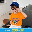 T-shirt summer leisure time There are models in the real shot nothing Cotton 100% 663202YZ-269510 Class B Summer 2021 male Zuo Xi Three years old, four years old, five years old, six years old, seven years old, eight years old, nine years old, ten years old, eleven years old, twelve years old cotton