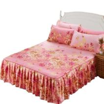 Bed skirt 120x200 for the same pillow case, 150x200 for the same pillow case, 180x200 for the same pillow case, 180x220 for the same pillow case cotton Other / other Plants and flowers