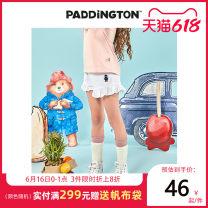 trousers female Paddington Bear Four, five, six, seven, eight, nine, ten, eleven, twelve Polyester 63.1% cotton 36.9% GK2005 White pink 110cm 120cm 130cm 140cm 150cm
