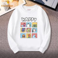 Sweater / sweater Tian Aibao neutral 110cm 120cm 130cm 140cm 150cm 160cm 170cm spring and autumn nothing Cartoon Socket routine There are models in the real shooting Cotton blended fabric Cartoon animation Cotton 83% polyester 17% TYW118 Class B Cotton liner Autumn of 2019