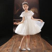 Children's dress female Cat language Jiali full dress LF-5046 Class B Polyester 100% Summer 2021 2 years old, 3 years old, 4 years old, 5 years old, 6 years old, 7 years old, 8 years old, 9 years old, 10 years old, 12 years old, 13 years old, 14 years old 100cm 110cm 120cm 130cm 140cm 150cm 160cm