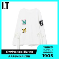 Sweater / sweater Spring 2020 BKX / black whx / white XS S M 96% and above cotton Cotton 100% Same model in shopping mall (sold online and offline)