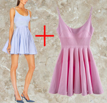 Dress Autumn 2020 Blue, black, red S,M,L