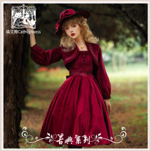 Lolita / soft girl / dress Cat highness L,M,S Winter, spring, autumn goods in stock Classic, Lolita, French solid