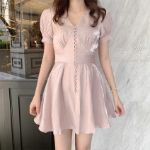 Dress Summer 2020 White, pink S,M,L,XL Other / other