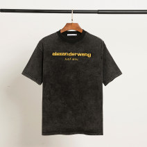 T-shirt Wash and make old S,M,L,XL Spring 2021 Short sleeve Crew neck easy routine other 51% (inclusive) - 70% (inclusive)