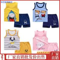 suit Simba monkey 73cm 80cm 90cm 100cm 110cm 120cm 130cm neutral summer Korean version other Thin money No model nothing Cartoon animation Pure cotton (100% cotton content) Class A Other 100% 3 years old