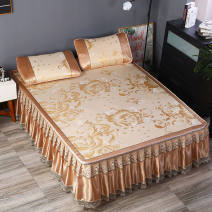 Bed cover One pair of 1.5X2m bed + pillow case, one pair of 1.8x2m bed + pillow case, one pair of 1.8x2m bed + pillow case, one pair of 2x2m bed + pillow case, one pair of 1.2x2m bed + pillow case, one piece of 0.9x2m bed + pillow case Plants and flowers Yunya Polypropylene fiber