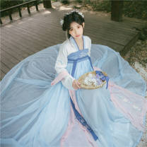 Hanfu 71% (inclusive) - 80% (inclusive) Summer 2020 6m skirt for rent S,M,L,XL polyester fiber