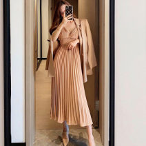 Women's large Autumn 2020 S M L XL Two piece set Sauvignon Polyester 95.5% other 4.5% Exclusive payment of tmall