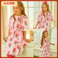 Sweater / sweater The pink flower flying sleeve dress will be shipped at the end of April, and the pink bow sock will be shipped at the end of April neutral 80cm, 90cm, 100cm, 110cm, 120cm, 130cm, 140cm, s (1-3 years old), m (4-6), l (7-8) winter nothing leisure time Single breasted routine No model