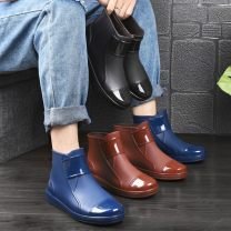 Rain shoes Other / other 37, 38, 45, 39, 40, 41, 42, 43, 44 rubber waterproof Solid color spring and autumn Youth (18-40 years old) plastic cement B31 Spring 2021
