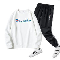 Casual pants Champion rhinoceros Youth fashion M L XL 2XL 3XL 4XL 5XL routine trousers Other leisure Self cultivation Micro bomb autumn youth tide 2020 Triacetate fiber (triacetate fiber) 100% Sports pants Summer of 2019 Pure e-commerce (online only)