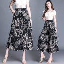 Casual pants Decor 1 2109, decor 2 2109, decor 3 2109, decor 4 2109, decor 5 2109, decor 6 2109 2XL,3XL,4XL Spring 2021 Cropped Trousers Wide leg pants High waist commute routine 35-39 years old 91% (inclusive) - 95% (inclusive) Other / other polyester fiber Simplicity pocket polyester fiber