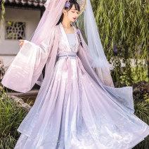 Hanfu 96% and above Summer 2020 S M L XL polyester fiber