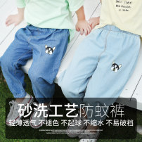 trousers Little master classic neutral 90cm 100cm 110cm 120cm 130cm summer trousers leisure time There are models in the real shooting Casual pants Leather belt middle-waisted Pure cotton (100% content) Don't open the crotch Cotton 100% xzjd200423 Class B Summer 2020 Chinese Mainland Anhui Province