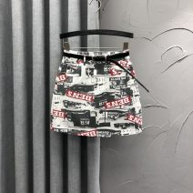 skirt Summer 2020 S M L XL Blue black coffee Short skirt street High waist A-line skirt Decor Type A JLD20A0459 71% (inclusive) - 80% (inclusive) Denim Jane Langton cotton printing Cotton 80% polyester 20% Pure e-commerce (online only) Europe and America
