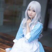 Cosplay women's wear jacket goods in stock Over 14 years old Suit (socks), suit + wig comic S,M,L,XL Maid Dress
