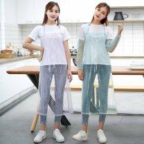 apron Sleeveless apron waterproof Simplicity PVC Household cleaning Average size W021 Miggis public no