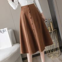 Dress Black-958, caramel-170, apricot-412, collection and purchase priority female Other / other S waist is 1.9/64cm, m waist is 2.6/68cm, l waist is 2.1/72cm, XL waist is 2.2/76cm, 2XL waist is 2.3/80cm Other 100% other Umbrella skirt FA64E9070 3 months